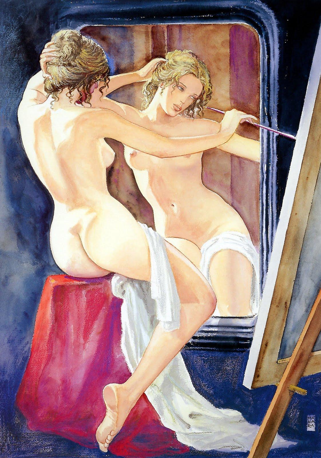 Эротические рисунки художники 19 фотография