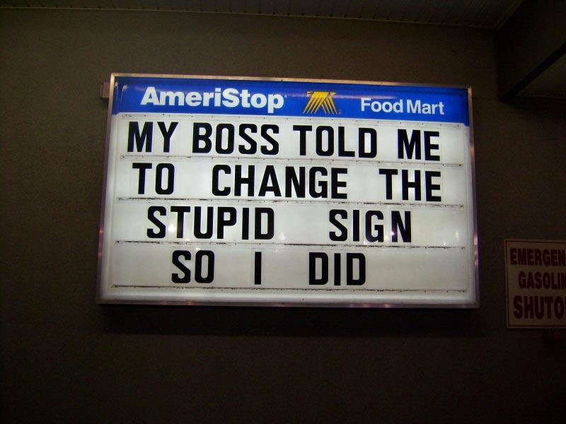 Smart Ass Signs 108