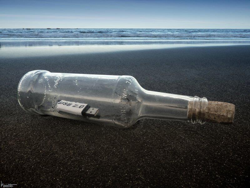 бутылка у пізді фото