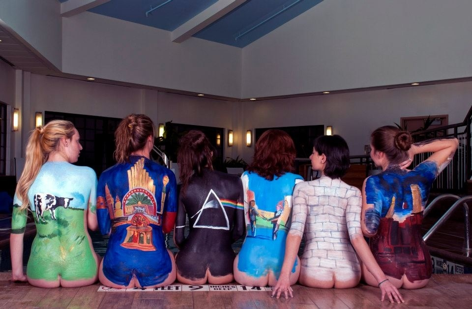 Ideal Pink Floyd Naked Lady Poster Photos